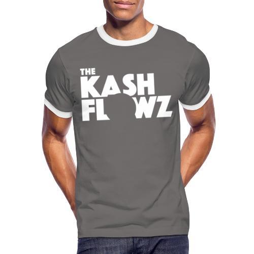 Official Logo White - T-shirt contrasté Homme