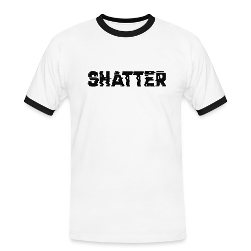 shatter - Männer Kontrast-T-Shirt