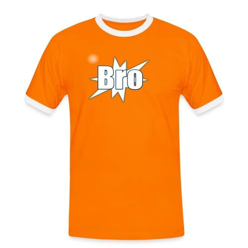 Bro hats and shirts - Herre kontrast-T-shirt