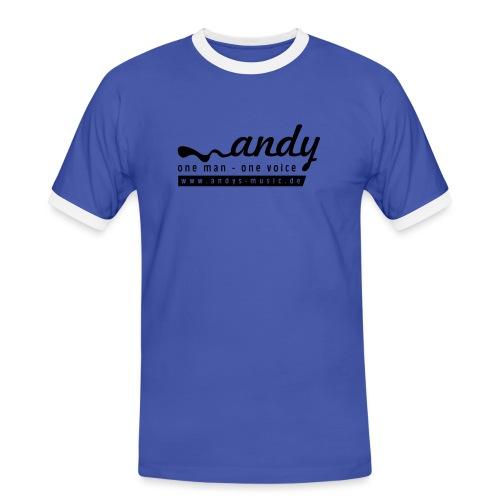 logo1 - Männer Kontrast-T-Shirt