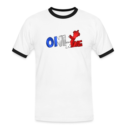 Logo ONLY KING edition francaise - T-shirt contrasté Homme