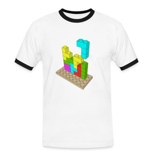 new Idea 13883242 - Camiseta contraste hombre