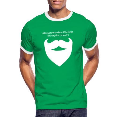 Remote Work Beard Challenge - Men's Ringer Shirt