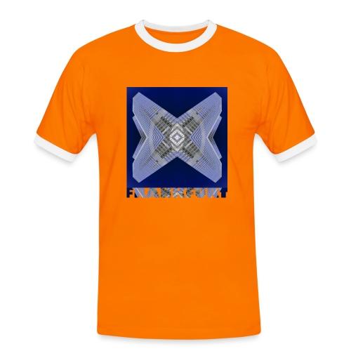 Frankfurt #4 - Männer Kontrast-T-Shirt