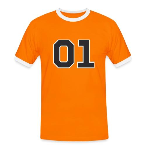 """General Lee """"01"""" - Männer Kontrast-T-Shirt"""