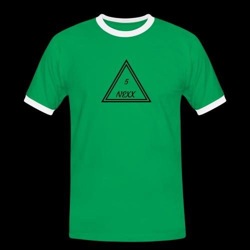 5nexx triangle - Mannen contrastshirt