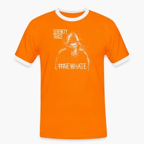 #NewHate Male - Kontrast-T-skjorte for menn