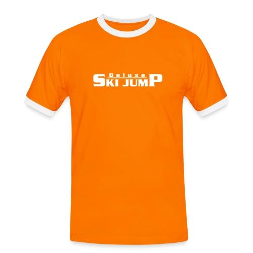 Deluxe Ski Jump - Men's Ringer Shirt