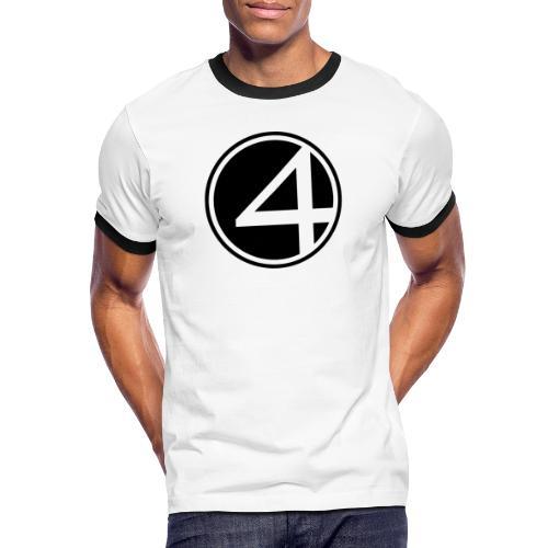 Fantastic - Männer Kontrast-T-Shirt