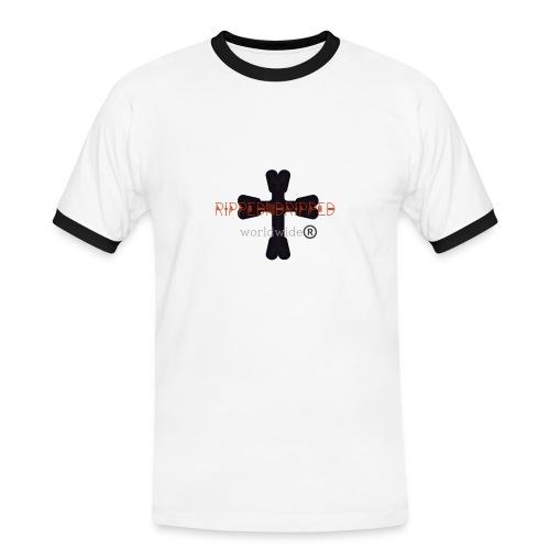 Rippedndripped - Mannen contrastshirt