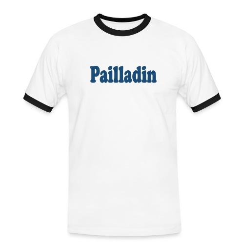 Pailladin bleu - T-shirt contrasté Homme