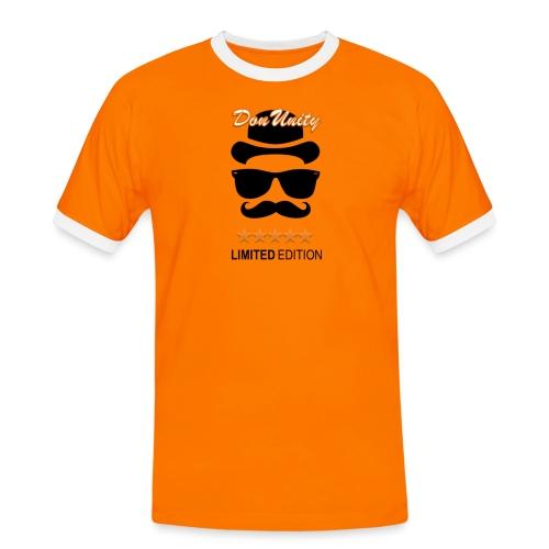 LimEditionOrange - Männer Kontrast-T-Shirt
