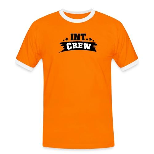International Crew T-Shirt Design by Lattapon - Herre kontrast-T-shirt