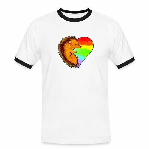RICCIO - Maglietta Contrast da uomo