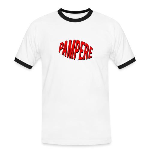 pampere - Koszulka męska z kontrastowymi wstawkami