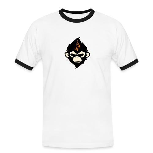 MonkieGames - Mannen contrastshirt