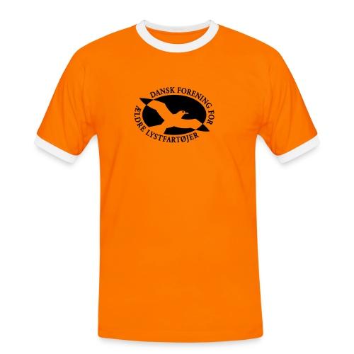 logo vector - Herre kontrast-T-shirt