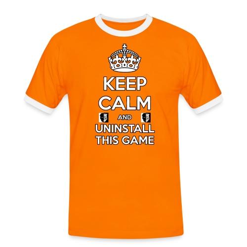 Keep Calm - Maglietta Contrast da uomo