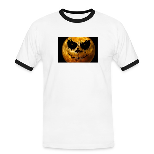 Halloween Mond Shadow Gamer Limited Edition - Männer Kontrast-T-Shirt