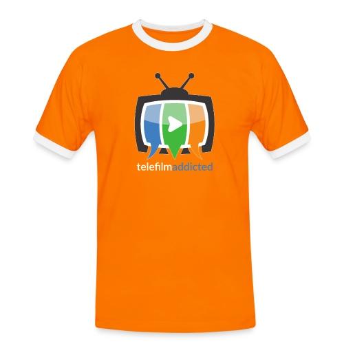 Logo Telefilm Addicted - Maglietta Contrast da uomo