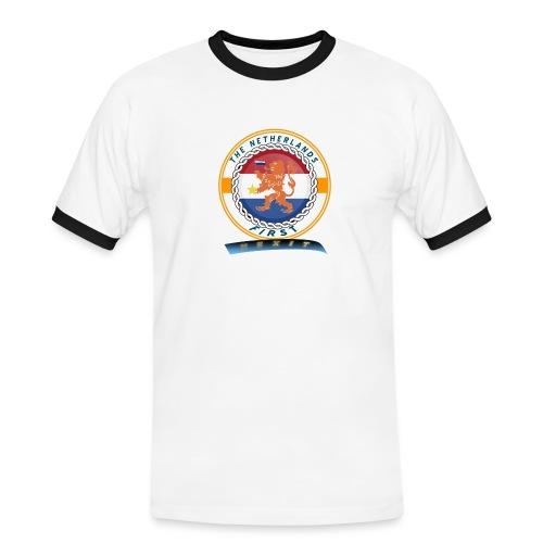 RF - Mannen contrastshirt