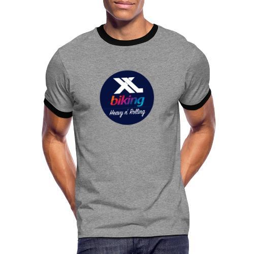 XL Biking - Kontrast-T-shirt herr