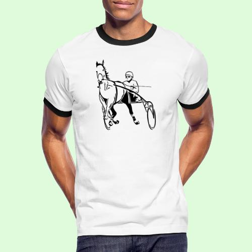 Les Trotteurs - T-shirt contrasté Homme