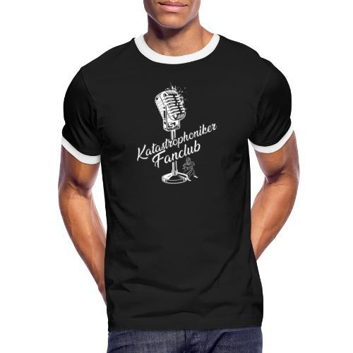 Katastrophoniker Fanclub - Männer Kontrast-T-Shirt