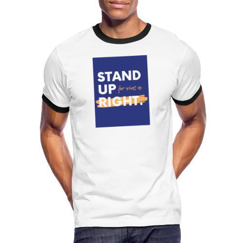 03723A0F FC04 4886 ACEC BB0A8F7400D9 - Men's Ringer Shirt