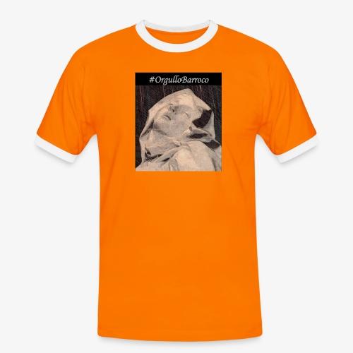 #OrgulloBarroco Teresa dibujo - Camiseta contraste hombre