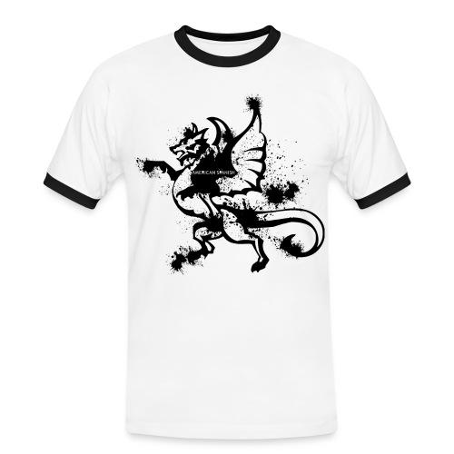 American spanish dragón - Camiseta contraste hombre