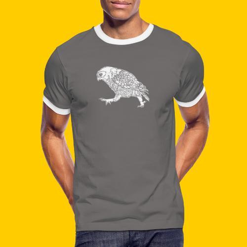 Oh...wl - Kontrast-T-shirt herr
