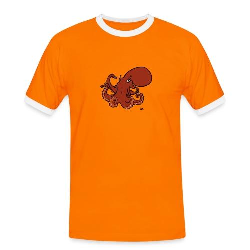 Giant Pacific Octopus - Men's Ringer Shirt