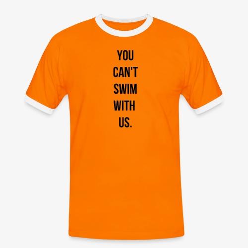 swim - T-shirt contrasté Homme