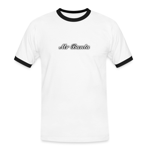 italic banta - Men's Ringer Shirt
