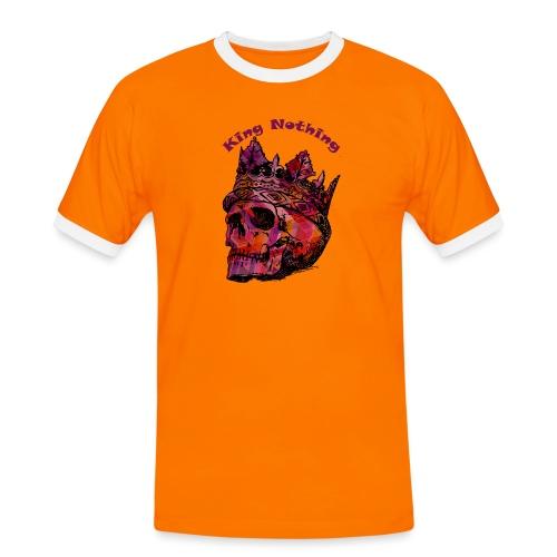 KingNothing - Herre kontrast-T-shirt