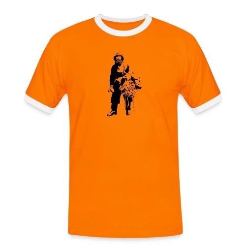 feskarn - Kontrast-T-skjorte for menn