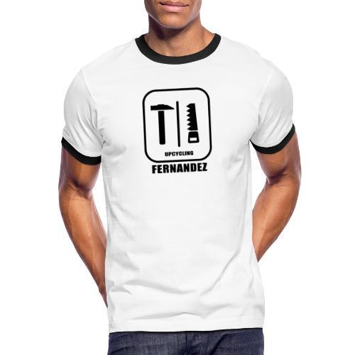Upcycling-Fernandez - Männer Kontrast-T-Shirt