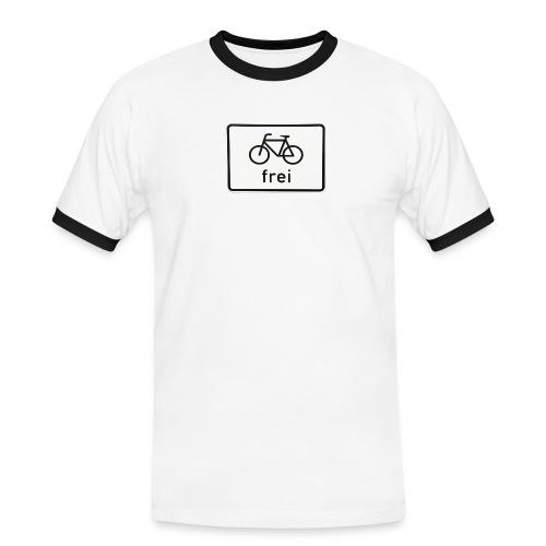 frei tshirt ssvis - T-shirt contrasté Homme