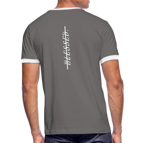 BLESSED - Just Look At You - Männer Kontrast-T-Shirt