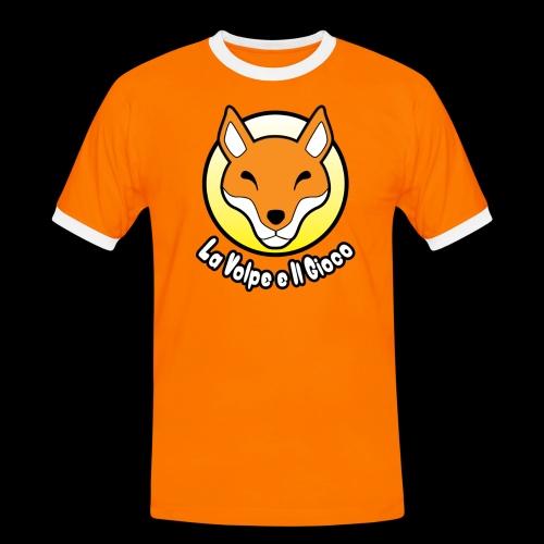 Logo la Volpe - Maglietta Contrast da uomo