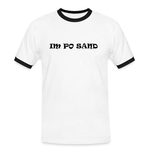 IM PO SAND T-Shirts - Männer Kontrast-T-Shirt