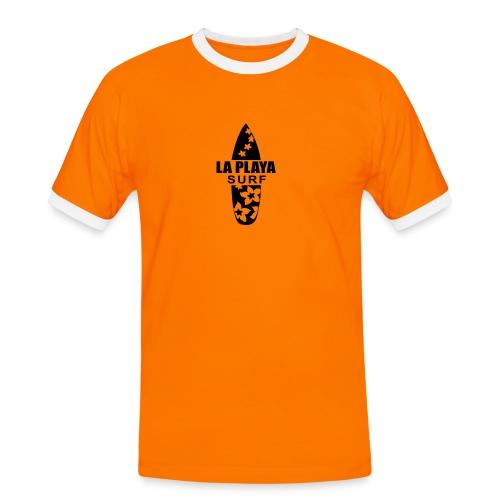 surferboy T-Shirts - Männer Kontrast-T-Shirt