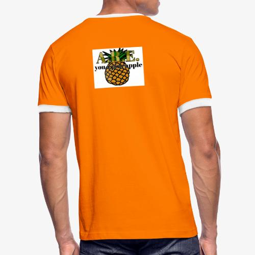 Are you a pineapple - Men's Ringer Shirt