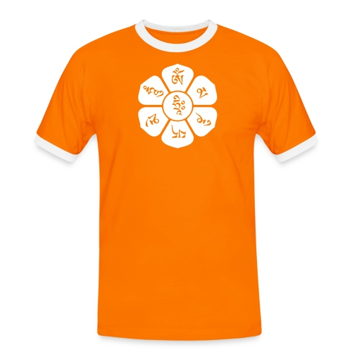 om mani padme hum - Männer Kontrast-T-Shirt