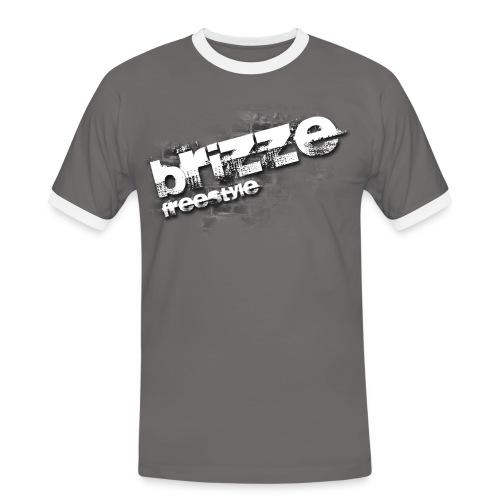 Brizze Freestyle on wall - Herre kontrast-T-shirt