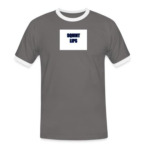 Squint Lips Merch - Men's Ringer Shirt