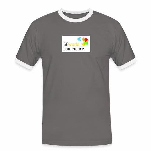 SFworldconference T-Shirts - Männer Kontrast-T-Shirt