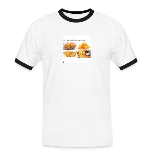 Shape - Männer Kontrast-T-Shirt