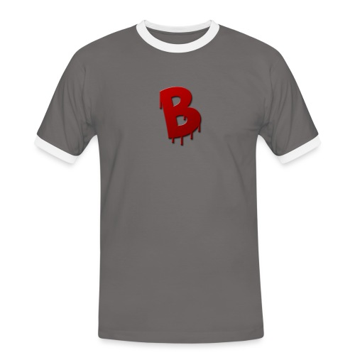 Rood Bartjuh - Mannen contrastshirt
